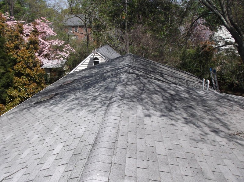 Charcoal Roof Repair Project Richmond Before Amp After